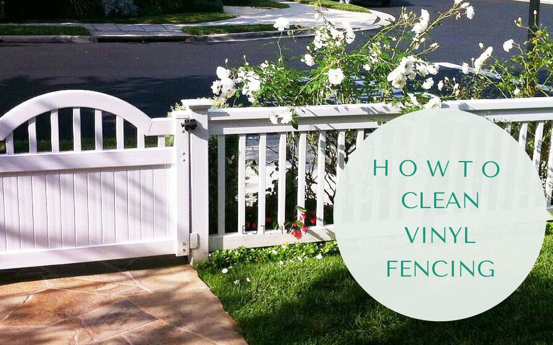 How to Clean a Vinyl Fence Made Easy