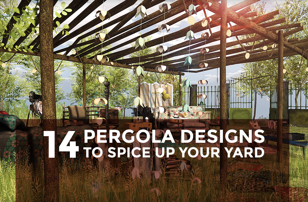 14 Pergola Designs to Spice Up Your Yard