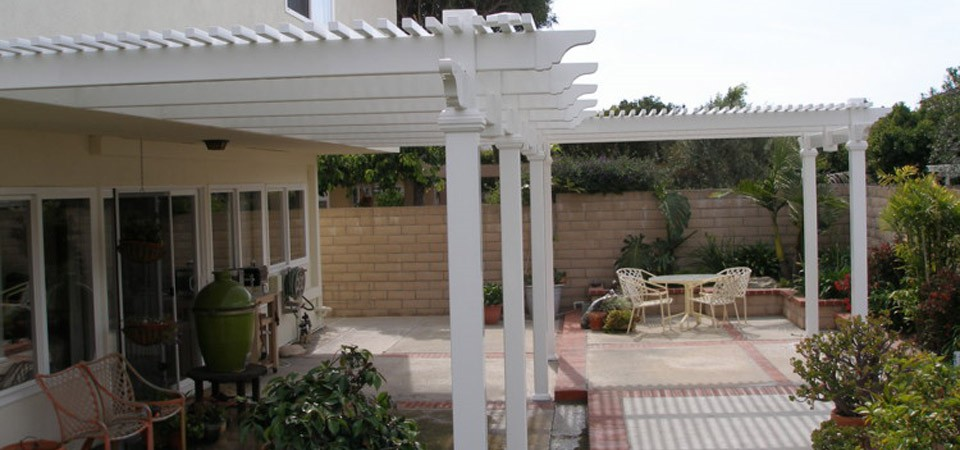 Cardiff Patio Covers in Orange County | Finyl Vinyl Building Products